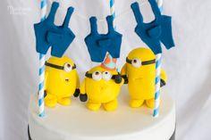 Tarta de cumpleaños de Minions