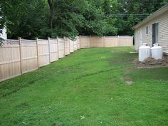 Photos Attached: Landscaping Along Fence, Privacy Fence Panels, Aluminum Fence, Stepping Stones, Landscape, Fencing, Outdoor Decor, Photos, Cinder Block Garden