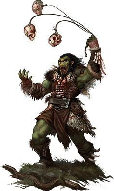 pathfinder orcs - Google Search