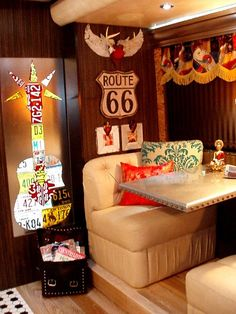Cool stuff! i love this i wish my house was like this it is one of la kind style... for my someday RV!!!