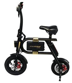 SWAGTRON SwagCycle EBike Folding Electric Bicycle with 10 Mile Range Collapsible Frame and Handlebar Display Black *** To view further for this item, visit the image link-affiliate link. Electric Scooter With Seat, Electric Bike Review, Best Electric Bikes, Folding Electric Bike, Electric Skateboard, Electric Bicycle, Bike Folding, Buy Bike, Cool Bike Accessories