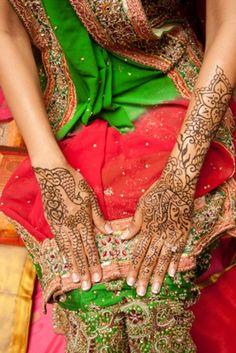 henna for indian wedding