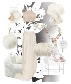 Furry by lotus-lotusflower on Polyvore featuring polyvore, River Island, Vionnet, Gianvito Rossi, Fendi, Oscar de la Renta, Allurez, Forever New, Ashlyn'd, Charlotte Russe, Élitis, Pottery Barn, Comfort Research, Pier 1 Imports, fashion, style and clothing