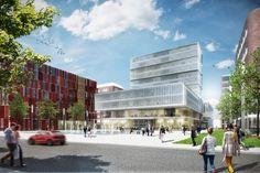 Konzernzentrale Beiersdorf Hamburg kadawittfeldarchitektur 2014 #office http://rdt.ac/e942
