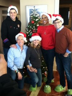 Good Morning America Hosts | Robin Roberts Gets Holiday Visit From Good Morning America' Co-Hosts