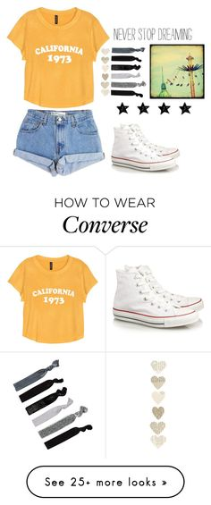 """hello"" by jamwich on Polyvore featuring Levi's, H&M, Converse and France Luxe #teen_style_hipster"