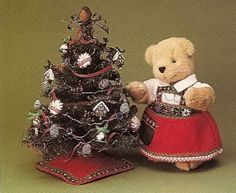 Muffy's alpine Christmas....  Photo via web