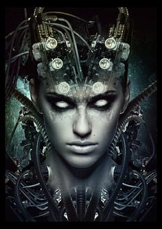 Giger Photoshop Tutorial Art