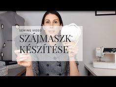 Hogyan készíts szájmaszkot- LETÖLTHETŐ INGYENES SZABÁSMINTA - YouTube