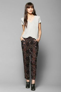 Staring At Stars Relaxed Woven Pant #urbanoutfitters
