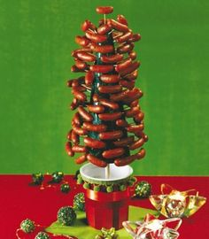 """Picture from """"Merry Kitschmas: The Ultimate Holiday Handbook"""" a retro holiday food by Peter Medilek #vintage #christmas #creepy #weird - Carefully selected by GORGONIA www.gorgonia.it"""