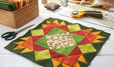 Curso de patchwork para principiantes Best Embroidery Machine, Sewing Machine Quilting, Sewing Machine Reviews, Diy Home Crafts, Yarn Crafts, Garden Fence Art, Red Brolly, Sewing Accessories, Love Sewing