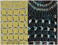 inspiration and realisation: DIY Fashion + Home: DIY Marc Jacobs knit and crochet sweater #tutorial