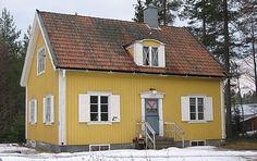 Tjugotalsklassicistisk villa i Rundvik, Nordmaling. Foto Maria Löfgren, Västerbottens Museum