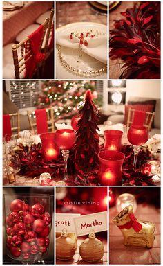 Christmas table inspiration #holiday #christmas