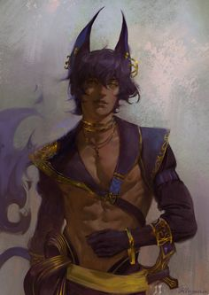 """Painting abs is fun"""" Character Creation, Character Concept, Character Art, Concept Art, Anime Oc, Anime Guys, Dnd Characters, Fantasy Characters, Mundo Comic"""