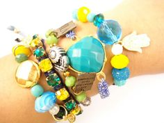 Kit de pulseiras www.anaggabriela.com.br