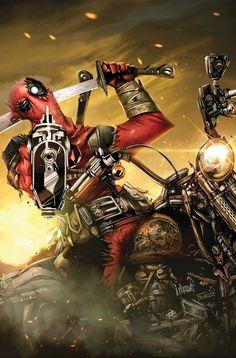Deadpool: Massacre #1 Cover by Francisco Herrara
