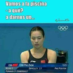 Jajajaja las olimpiadas son lo mas