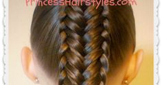 "Pretty variation of a fishtail braid hairstyle. ""Twisted edge"" fishtail tutorial."