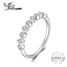 Classic Weddig Band Ring For Women Real 925 Sterling Silver Fashion Jewelry Gift For Friends Fashion Jewelry, Women Jewelry, Buy Jewellery Online, 925 Silver, Sterling Silver, Wedding Ring Bands, Gifts For Friends, Jewelry Gifts, Kleding