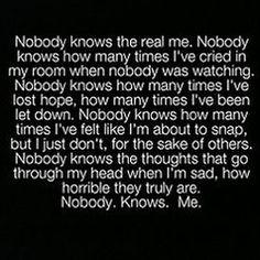 Nobody...
