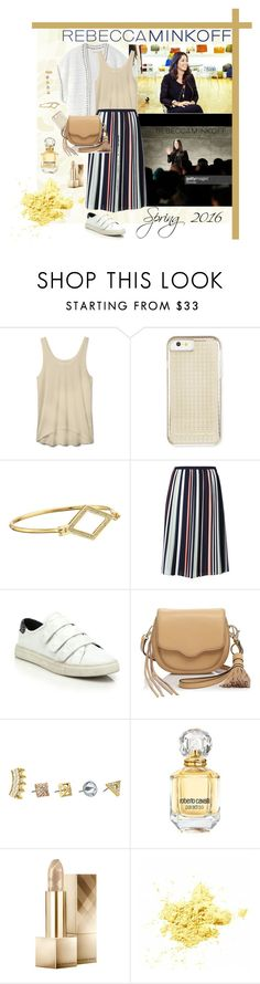 """""""RM spring 2016"""" by fabiana-fellini ❤ liked on Polyvore featuring Rebecca Minkoff, Roberto Cavalli, Burberry, contestentry, seebuywear and rmspring"""