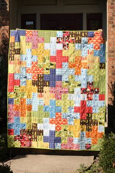 Plus Quilt by jenib320, via Flickr