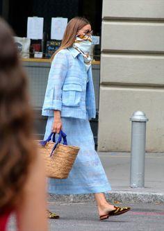 Olivia Palermo Street Style, Olivia Palermo Outfit, Estilo Olivia Palermo, Olivia Palermo Lookbook, Olivia Palermo Winter Style, 70s Fashion, Girl Fashion, Fashion Outfits, Fashion Design