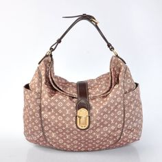 Louis Vuitton Rood Denim Monogram Romance M56700