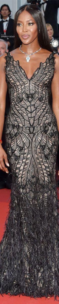 Naomi Campbell/Cannes Film Festival 2017 (Atelier Versace)