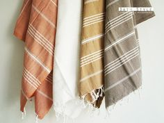 Turkish Bath Towels...I want these so bad - from bathstyle on etsy
