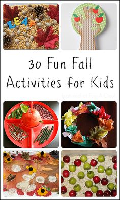30 fun fall activities for kids to try tomorrow