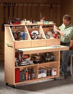 Open tool storage cabinet | Reader's Digest Australia