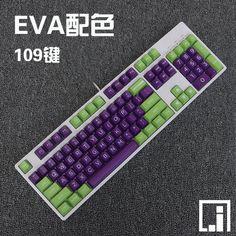 Gepersonaliseerde Duits opnemen PBT machine grote carbon EVA commando kleur keycaps Filco mechanisch toetsenbord keycaps special