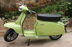 "1965 Malaguti 50. Italy. Malaguti's first scooter, nicknamed ""Saigon 50"" because over 70% were sold to Vietnam."