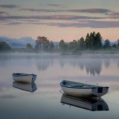 Early Sun, Loch Rusky... by David Mould on 500px