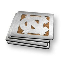 Sportula Products 7015934 North Carolina Tar Heels  Boaster Coaster by SPORTULA PRODUCTS. $24.99. Set of Four. Strong cork backer. Heavy-duty stainless steel. Unique laser-cut design. Boasters are a set of 4 Heavy-Duty Coasters made from stainless steel and have a strong cork backer.  They are the perfect compliment to its Sportula counterpart.