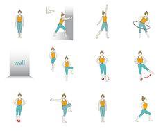 Stretching For Seniors, Yoga For Seniors, Kids Yoga Poses, Yoga For Kids, Osteoarthritis Hip, Yoga For Osteoporosis, Yoga For Elderly, Standing Yoga Poses, Hip Injuries