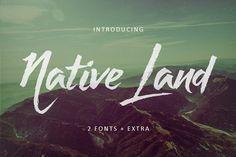 Native Land by Get Studio on @creativemarket