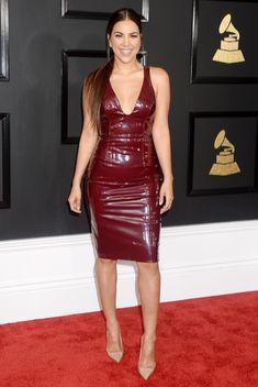 Liz Hernandez attends The 59th GRAMMY Awards