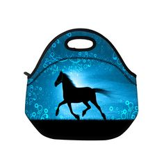 Hot Horse neoprene thermal portable lunch bag women kids baby casual bags box tote waterproof food container