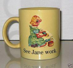 dick & jane mug