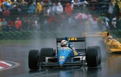 Christian Danner (GER) (Rial Racing), Rial ARC-02 - Ford-Cosworth DFR 3.5 V8 1989