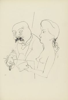 George Grosz. Plate 26 from Ecce Homo. 1922-1923 (reproduced drawings and watercolors executed 1915-22)