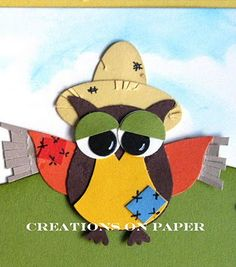 Creations on Paper: Wizard of OWLZ- The Scarecrow