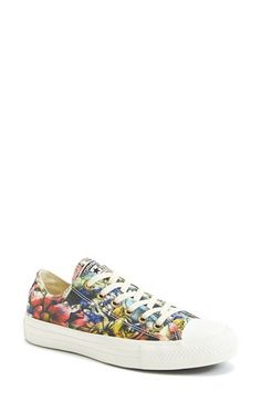 Converse+Chuck+Taylor®+Floral+Print+Sneaker+(Women)+available+at+#Nordstrom
