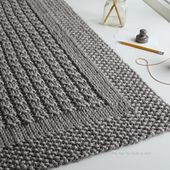 "Over the Rooftops blanket knitting pattern is FREE thru Sunday, Jan. 29th at 9:00 pm US CST. Offer good on Ravelry only. No coupon code needed. Just click ""buy it now"" above and the price will automatically adjust to free. Happy knitting!"