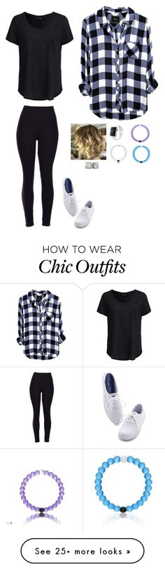 """E"" by fashion12guru on Polyvore featuring New Look and Keds"