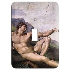 The Michelangelo 1 Cover Plates is very unique and cannot be found anywhere else. These USA made metal wall plates are highly detailed and made with some of the newest UV imaging technology available resulting in photograph quality prints on durable metal switchplates.